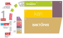 Интерактивная карта для ТЦ МЕГА
