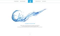 """Новый сайт для компании ООО """"Водные технологии"""""""