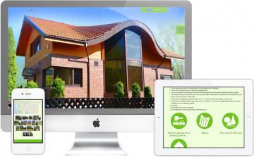 Сайт для тех, кто хочет купить дом в Паланге
